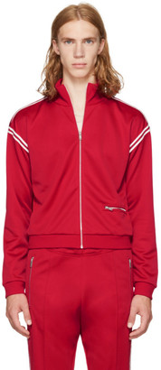 Maison Margiela Red Track Jacket $790 thestylecure.com