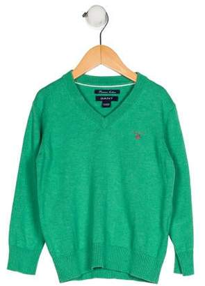 Gant Kids Boys' V-Neck Sweater