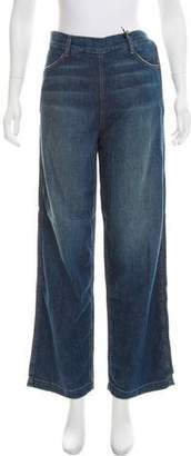 Vince High-Rise Wide-Leg Jeans w/ Tags