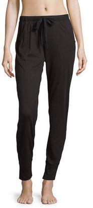 Cosabella Arizona Jogger Lounge Pants, Black $60 thestylecure.com
