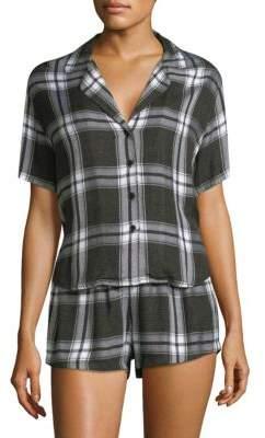 Rails Plaid Flannel Pajama Set