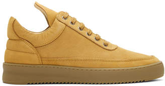 Filling Pieces Beige Lane Gum Sneakers