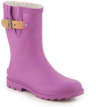Chooka Top Solid Mid Rain Boot - Women's