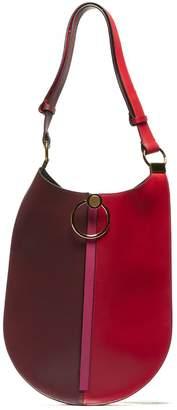Marni Lilac Earring Leather Shoulder Bag