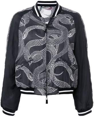 Marcelo Burlon County of Milan Snakes bomber jacket