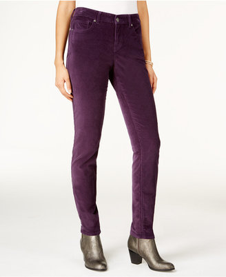 Style & Co. Velvet Skinny Jeans, Only at Macy's $54.50 thestylecure.com