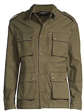 The Kooples Men's Cargo Cotton Jacket