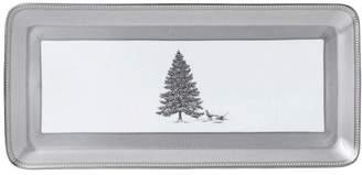 Wedgwood Festive Silver Sandwich Tray