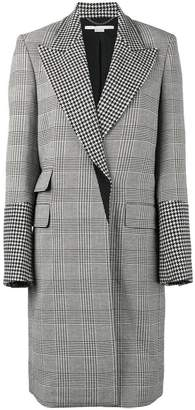 Stella McCartney Odelia check coat