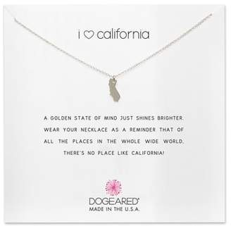 Dogeared (ドギャード) - Dogeared I Heart California Pendant Necklace