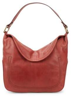 Frye Campus Rivet Leather Hobo Bag