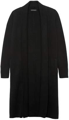 Banana Republic Italian Superloft Duster Cardigan Sweater