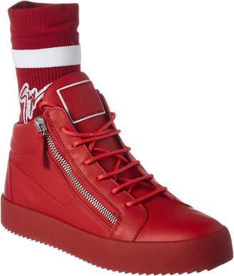 Giuseppe Zanotti Leather Sneaker