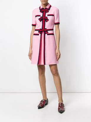 Gucci bow detailed dress