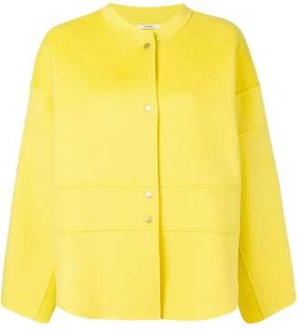 Odeeh snap fastening jacket