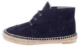 Chanel Suede Chukka Boots