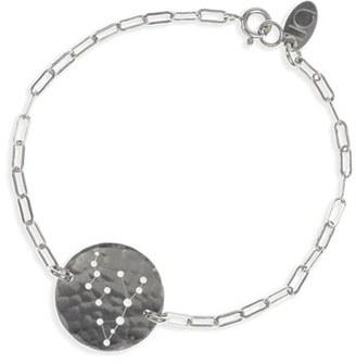 Women's Ija 'Zodiac' Sterling Silver Chain Bracelet $143 thestylecure.com