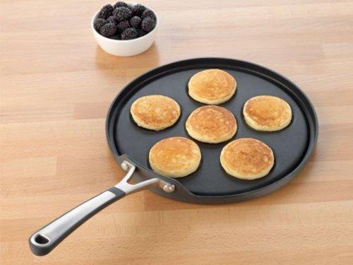 Calphalon Nonstick Simply Nonstick Silver Dollar Pancake Pan