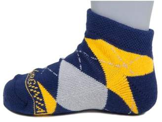 Donegal Bay West Virginia Mountaineers Youth Argyle No Show Sock