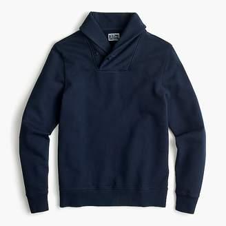 J.Crew French terry shawl-collar pullover sweatshirt
