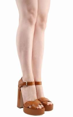 Laurence Dacade Rosange Leather Platform Sandals