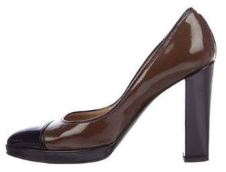 Hermes Patent Leather Pointed-Toe Pumps