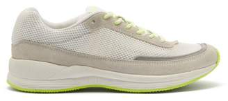 A.P.C. Teenage Mary Low Top Mesh Trainers - Mens - White