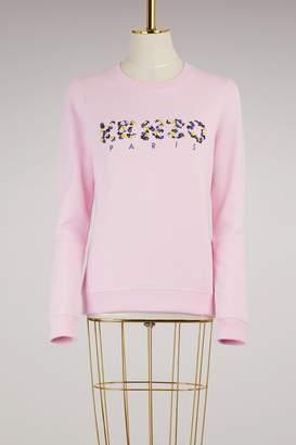 Kenzo Floral cotton sweatshirt