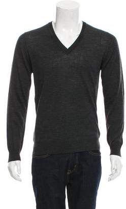 Tomas Maier Wool V-Neck Sweater w/ Tags