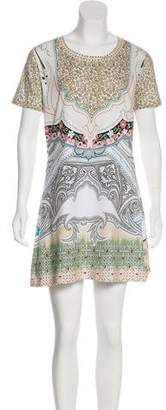 Etro Short Sleeve Printed Dress