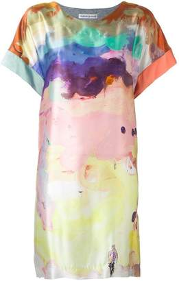 Tsumori Chisato watercolour print dress