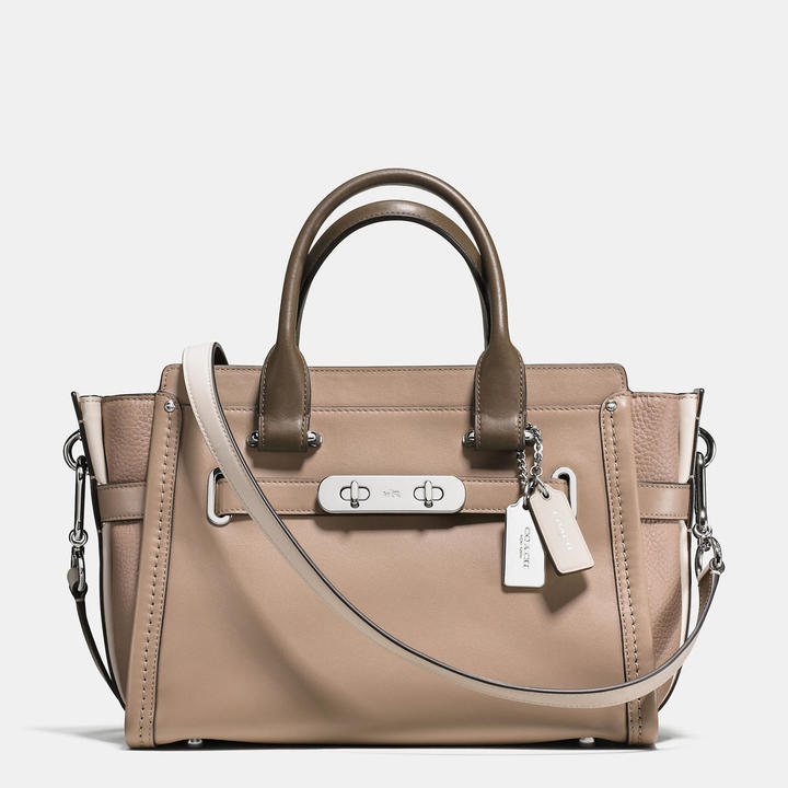 Coach  COACH Coach Swagger 27 In Colorblock Leather