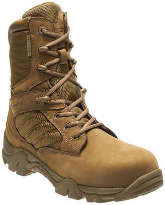 BATES Bates Mens Gx8 Comp Toe Waterproof Slip Resistant Work Boots Zip