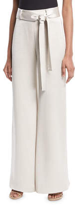 Alexis Nerissa Belted Wide-Leg Pants