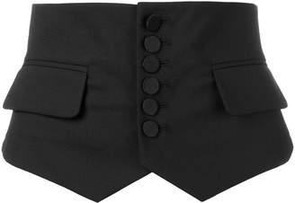 DSQUARED2 buttoned corset