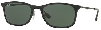 Ray-Ban Unisex New Wayfarer Light Sunglasses $225 thestylecure.com