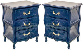 One Kings Lane Vintage Lacquered French Style Chests,Pair - Von Meyer Ltd.