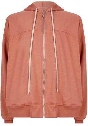 Rick Owens Cotton Zipped Hoodie
