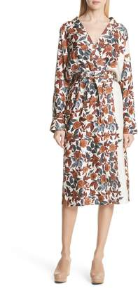 Rachel Comey Toga Silk Wrap Dress