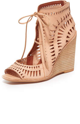 46541e28adc Jeffrey Campbell Wedge Women s Sandals - ShopStyle