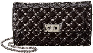 Valentino Rockstud Micro Stud Spike Leather Crossbody
