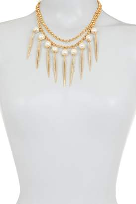 Vince Camuto Statement Glass Pearl Necklace