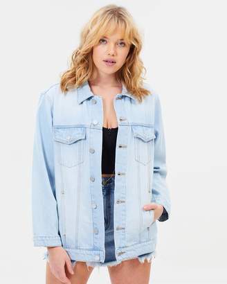 A Drew Oversized Denim Jacket