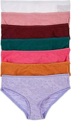 Scotch R'Belle Set Of 7 Days Of The Week Cotton-Blend Briefs