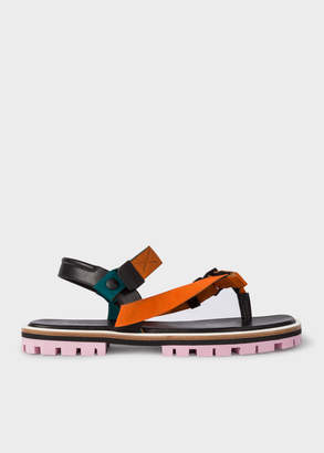 Paul Smith Women's Orange 'Akela' Sandals