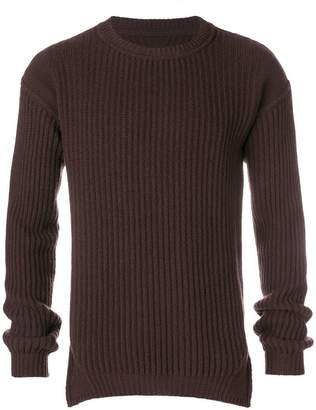 Rick Owens fisherman knitted jumper