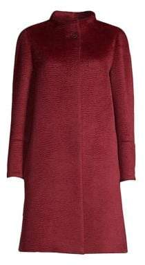 Cinzia Rocca Women's Long-Sleeve Walker Jacket - Cherry - Size 8