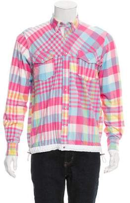 Sacai Plaid Flannel Shirt w/ Tags
