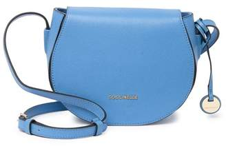 Coccinelle Leather Saddle Crossbody Bag