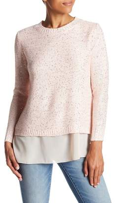 Couture Simply Sequined Bow Back Sweater